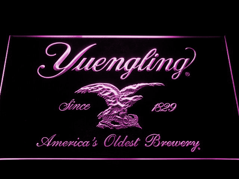 Image of Yuengling LED Neon Sign - Purple - SafeSpecial