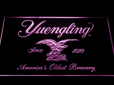 Yuengling LED Neon Sign - Purple - SafeSpecial