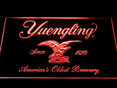Yuengling LED Neon Sign - Red - SafeSpecial