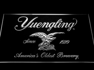 Yuengling LED Neon Sign - White - SafeSpecial