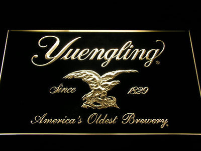 Yuengling LED Neon Sign - Yellow - SafeSpecial