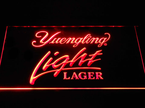 Image of Yuengling Light Lager LED Neon Sign - Red - SafeSpecial