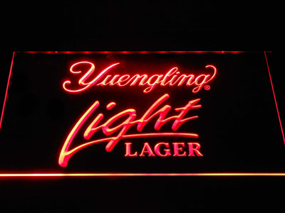 Yuengling Light Lager LED Neon Sign - Red - SafeSpecial