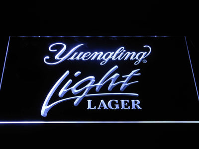 Yuengling Light Lager LED Neon Sign - White - SafeSpecial