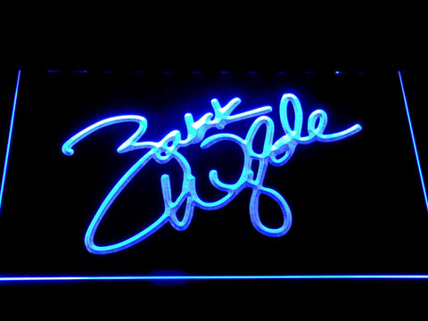 Image of Zakk Wylde Signature LED Neon Sign - Blue - SafeSpecial
