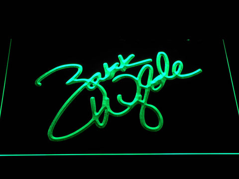 Image of Zakk Wylde Signature LED Neon Sign - Green - SafeSpecial