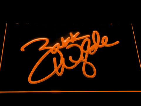 Image of Zakk Wylde Signature LED Neon Sign - Orange - SafeSpecial