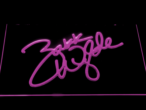 Image of Zakk Wylde Signature LED Neon Sign - Purple - SafeSpecial