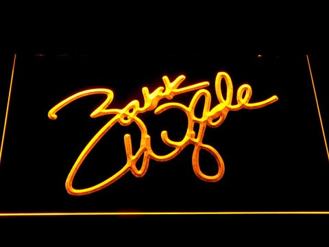 Image of Zakk Wylde Signature LED Neon Sign - Yellow - SafeSpecial