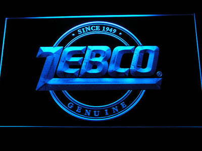 Zebco LED Neon Sign - Blue - SafeSpecial