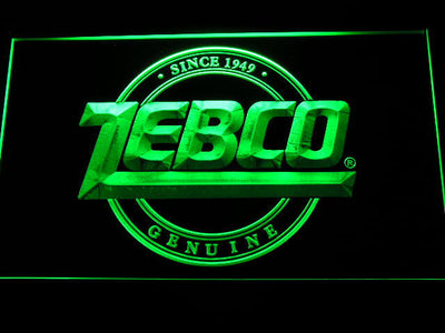 Zebco LED Neon Sign - Green - SafeSpecial