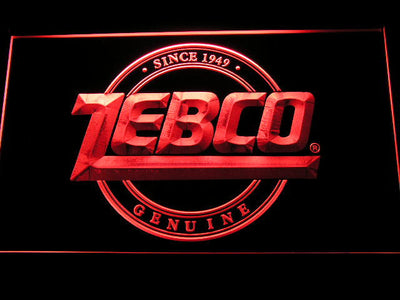 Zebco LED Neon Sign - Red - SafeSpecial