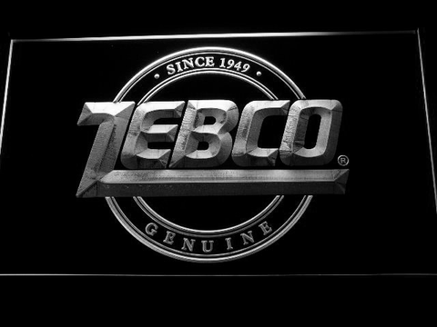 Image of Zebco LED Neon Sign - White - SafeSpecial