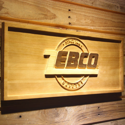 Zebco Wooden Sign - - SafeSpecial