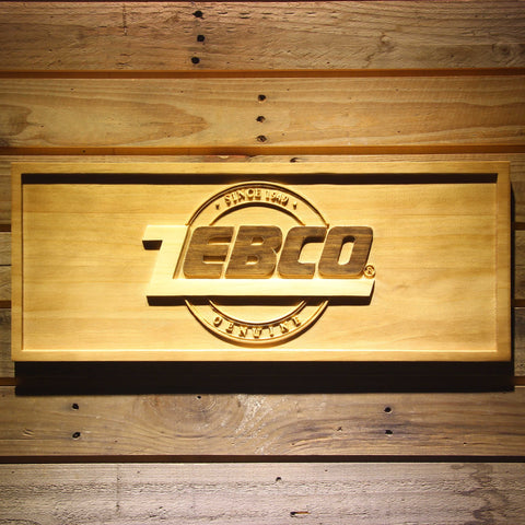 Zebco Wooden Sign - Small - SafeSpecial
