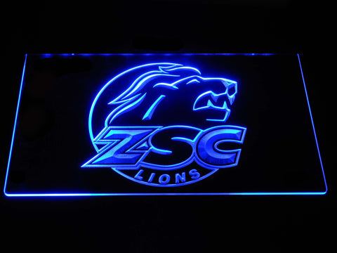 Image of ZSC Lions LED Neon Sign - Blue - SafeSpecial