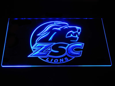 ZSC Lions LED Neon Sign - Blue - SafeSpecial