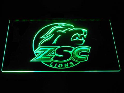 Image of ZSC Lions LED Neon Sign - Green - SafeSpecial