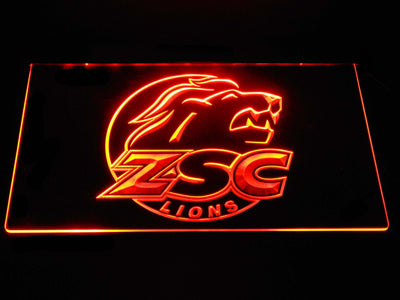 ZSC Lions LED Neon Sign - Orange - SafeSpecial