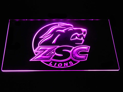 Image of ZSC Lions LED Neon Sign - Purple - SafeSpecial