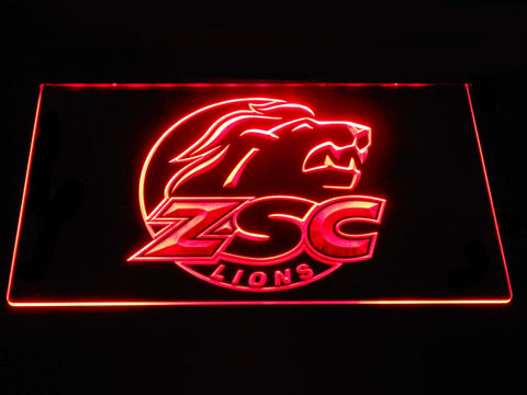Image of ZSC Lions LED Neon Sign - Red - SafeSpecial