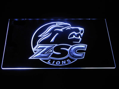 ZSC Lions LED Neon Sign - White - SafeSpecial