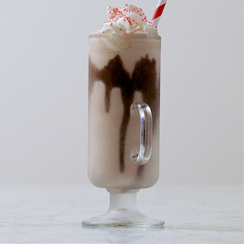Iced Hot Chocolate Holiday Recipe