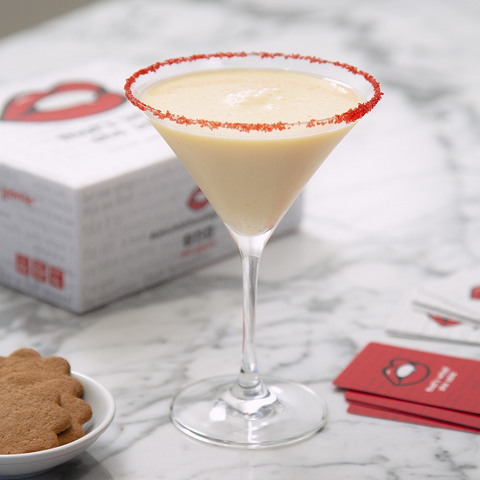 Santa's Coming Egg Nog Holiday Drink Game Night