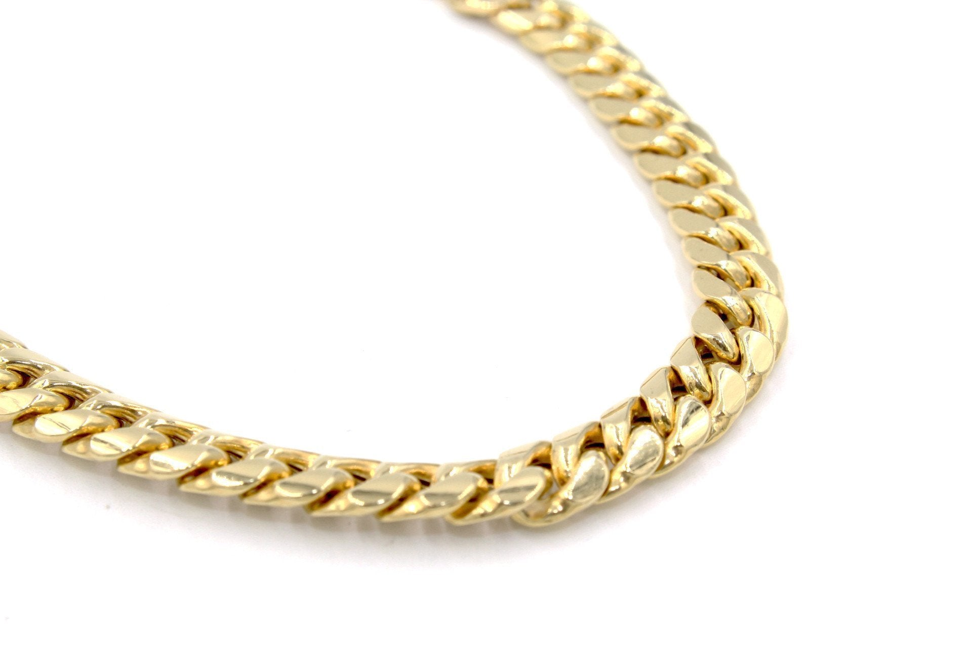 pave products gold inches chain collections necklace byzantine solid