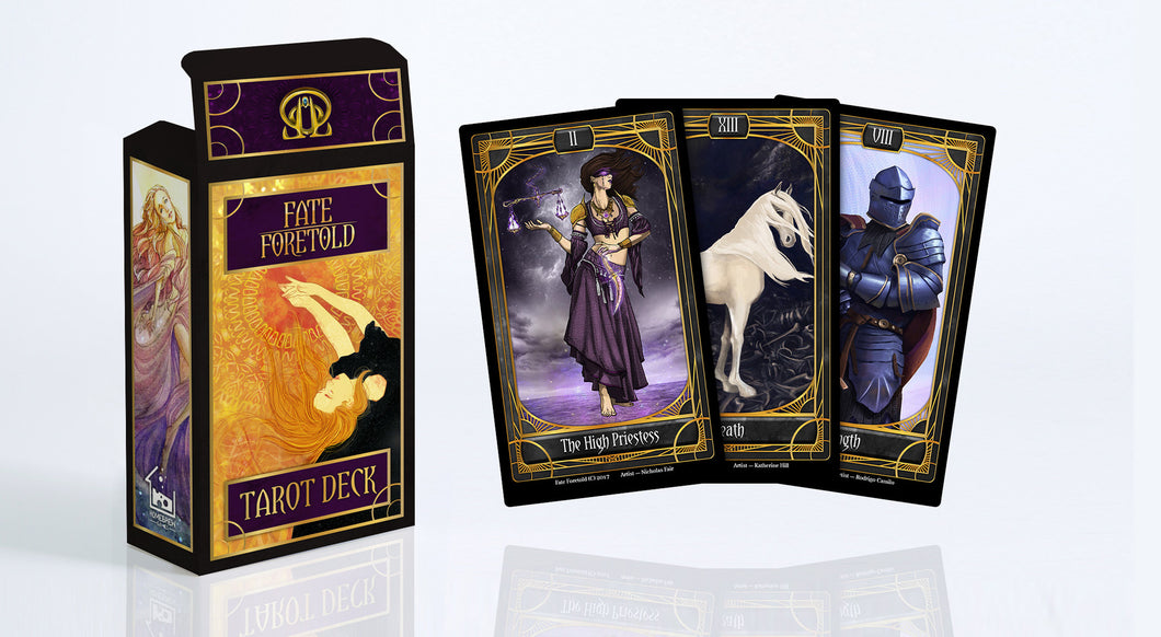 Fate Foretold Tarot Deck (Limited!)