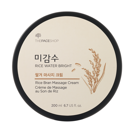 Rice Water Bright Rice Bran Massage Cream - THEFACESHOP Australia