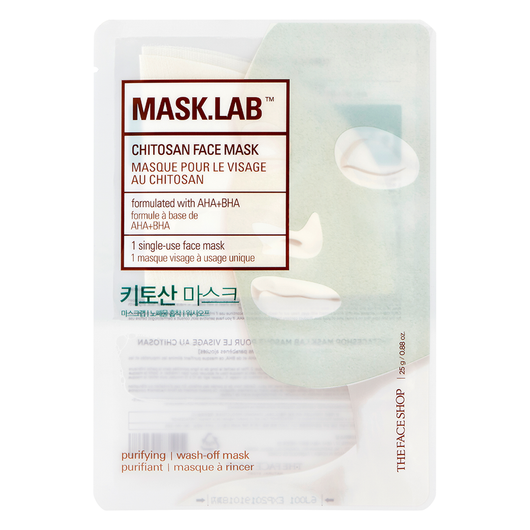 THEFACESHOP MASK.LAB CHITOSAN FACE MASK - THEFACESHOP Australia