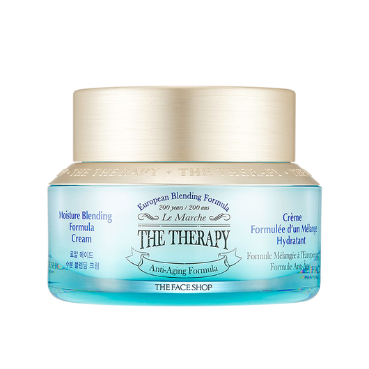 THE THERAPY MOISTURE BLENDING FORMULA CREAM - THEFACESHOP Australia