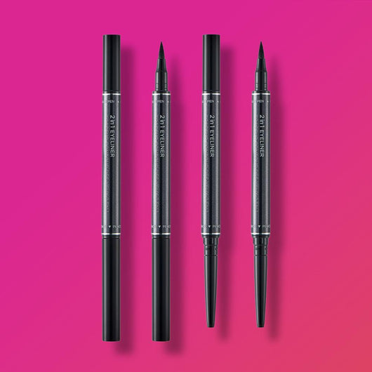 THEFACESHOP 2 IN 1 EYELINER 01 BLACK - THEFACESHOP Australia