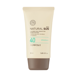 THEFACESHOP Natural Sun Eco  Calming Sensitive Sun SPF40 PA+++ - THEFACESHOP Australia