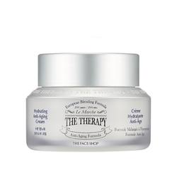 THE THERAPY HYDRATING ANTI-AGING CREAM - THEFACESHOP Australia