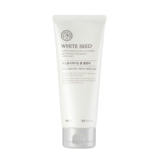 WHITE SEED BRIGHTENING Exfoliating Foam Cleanser - THEFACESHOP Australia