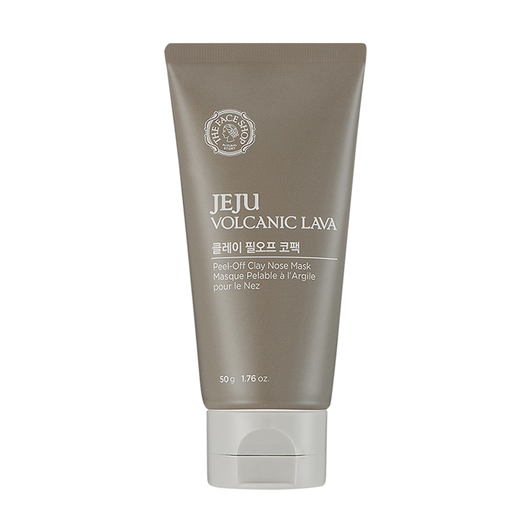 THEFACESHOP JEJU VOLCANIC LAVA PEEL OFF CLAY NOSE MASK - THEFACESHOP Australia