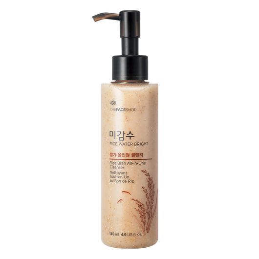 Rice Water Bright Rice Bran All-in-one Cleanser - THEFACESHOP Australia