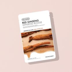 THEFACESHOP REAL NATURE Face Mask Red Ginseng - THEFACESHOP Australia