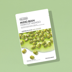 THEFACESHOP REAL NATURE Face Mask Mung Bean - THEFACESHOP Australia