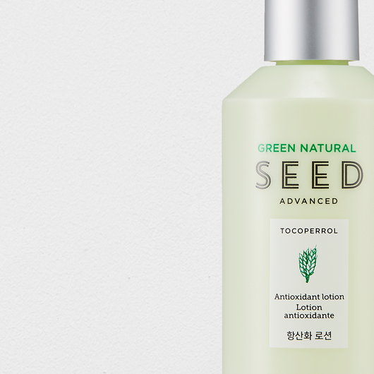 THEFACESHOP GREEN NATURAL SEED ANTI OXID LOTION - THEFACESHOP Australia