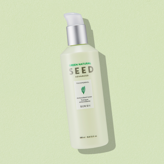 THEFACESHOP GREEN NATURAL SEED ANTI OXID TONER - THEFACESHOP Australia