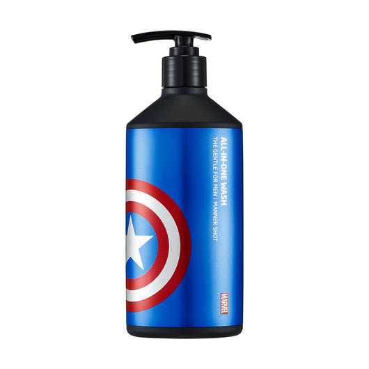 MARVEL The Gentle For Men Manner Shot All-In-One Wash - THEFACESHOP Australia