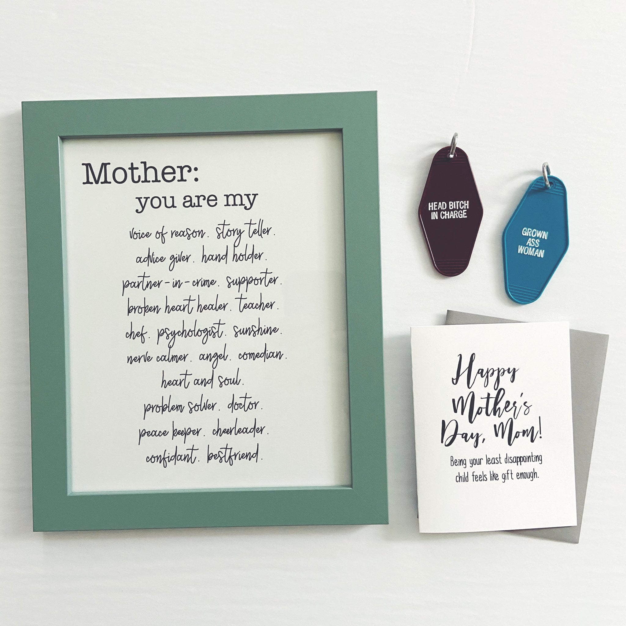 Mothers Day Gift Set -- Free Shipping