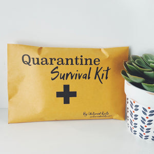Quarantine Survival Kit CARDS