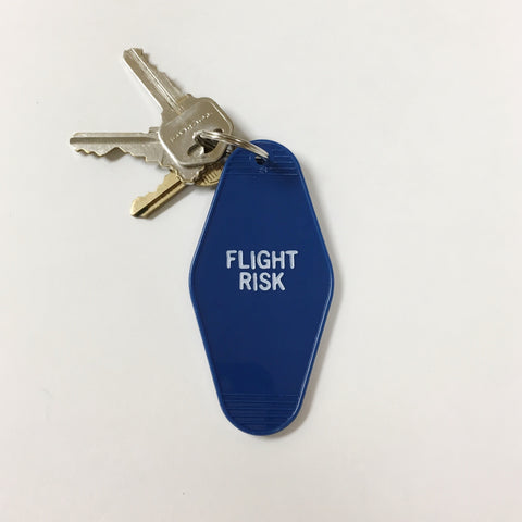 Flight Risk Key Tag