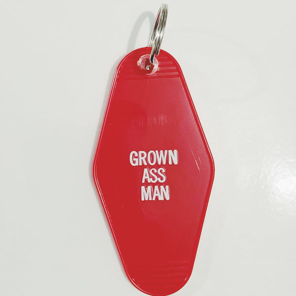 Grown Ass Man Keytag
