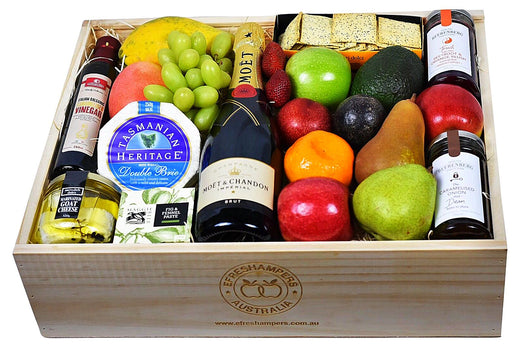 Deluxe Antipasto With Moet Amp Chandon Quality Fruit