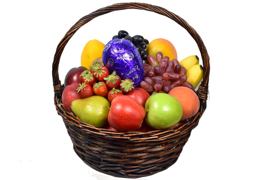 Fruit gift easter basket efresh hampers fruit gift easter basket negle Gallery